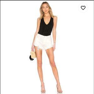 FREE PEOPLE Loving Good Vibrations Short in White